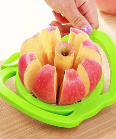 2019 New Kitchen assist apple slicer Cutter Pear Fruit Divider Tool Comfort Handle for Kitchen Apple Peeler