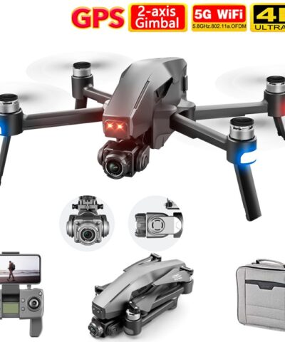 2021 M1 Pro 2 drone 4k HD mechanical 2-Axis gimbal camera 5G wifi gps system supports TF card drones distance 1.6km