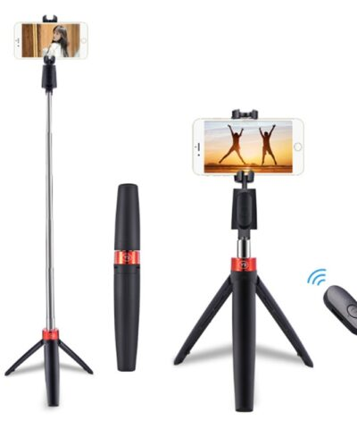 2021 Newest 3 in 1 Wireless Bluetooth Selfie Stick Mini Portable Mobile Phone Tripod Foldable Selfie Stick Bluetooth Remote