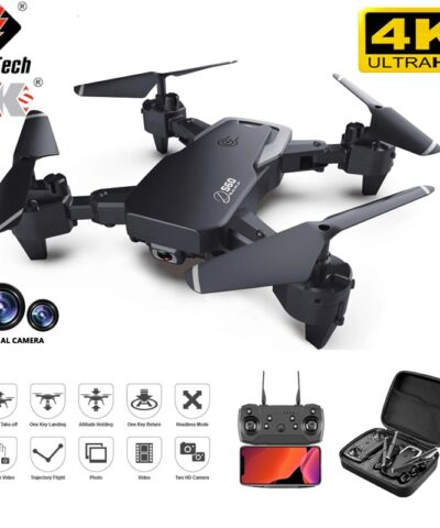 2021 New S60 Drone 4k Professional HD Wide Angle Camera 1080P WiFi Fpv Drone Dual Camera Height Keep Drones Camera Helicopter Toys