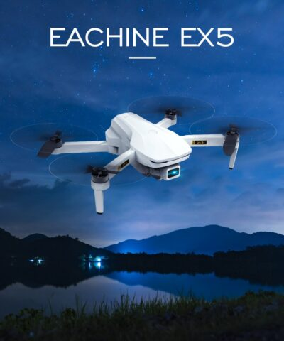 Eachine EX5 RC Quadcopter Mini Drone 4K Profesional 5G 4K HD GPS 1000m/200m FPV Camera Foldable Remote Control Racing Dron Toys
