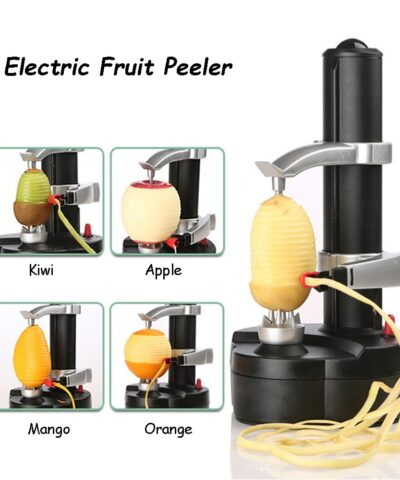 Electric Spiral Apple Peeler Potato Zester for Fruit and Vegetable Peeling Machine Grater Slicer Kitchen Tool gadget Accessories