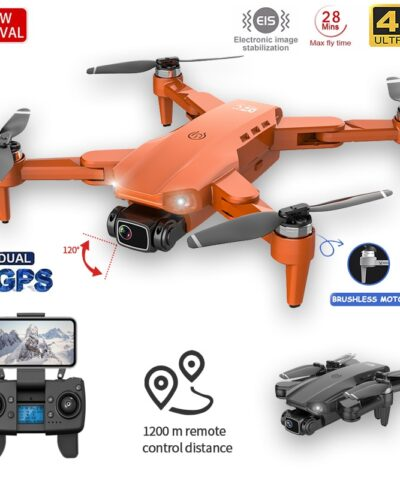 GPS Drone 4K Dual HD Camera Professional Aerial Photography Brushless Motor Foldable Quadcopter RC Distance 1200M