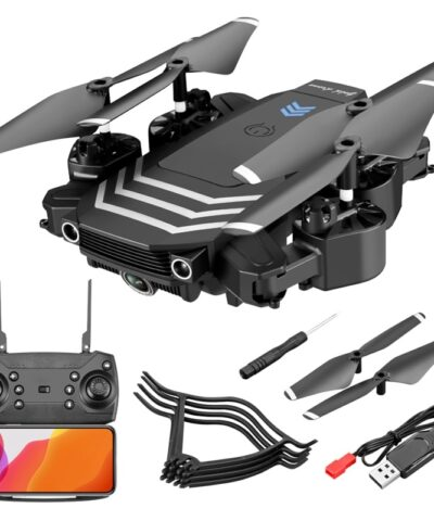 LS11 Foldable 4K Mini RC Drone Quadocopter with HD Camera Optical Flow Dual Cameras Drone 4k Profesional Boy Toys