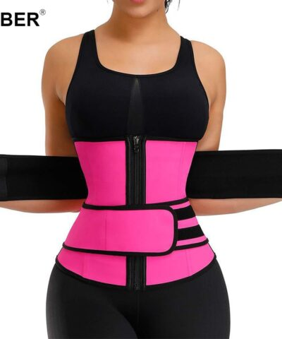 Slimming Sheath Shaperwear Waist Trainer Weight Loss Cincher Body Shaper Tummy Control Strap Slimming Sweat Fat Burning belt