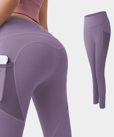 Yoga Pants Women with Pocket Plus Size Leggings Sport Girl Gym Leggings Women Tummy Control Jogging Tights Female Fitness pants